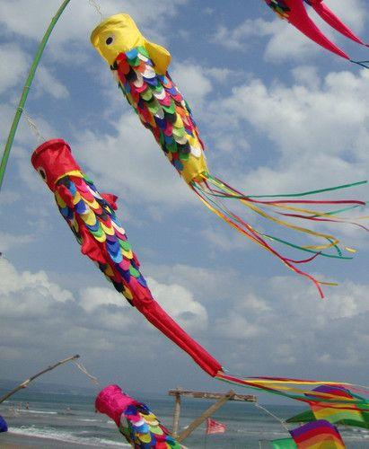 Bali Flag Wind Sock Large Various Colours Windsock Ebay Wind Sock Wind Colours