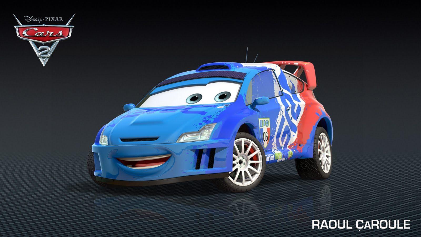 New Cars 2 Character Raoul Caroule Makkuin Tachka