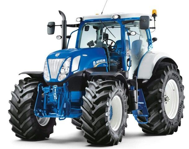 New Holland Ford >> New Holland T7 270 In Ford Colours Tractors New Holland