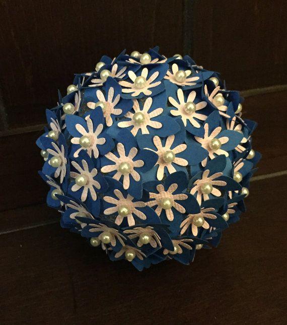 Paper flower pomander hydrangea ball by kayciskreativekraft posie paper flower pomander hydrangea ball by kayciskreativekraft mightylinksfo
