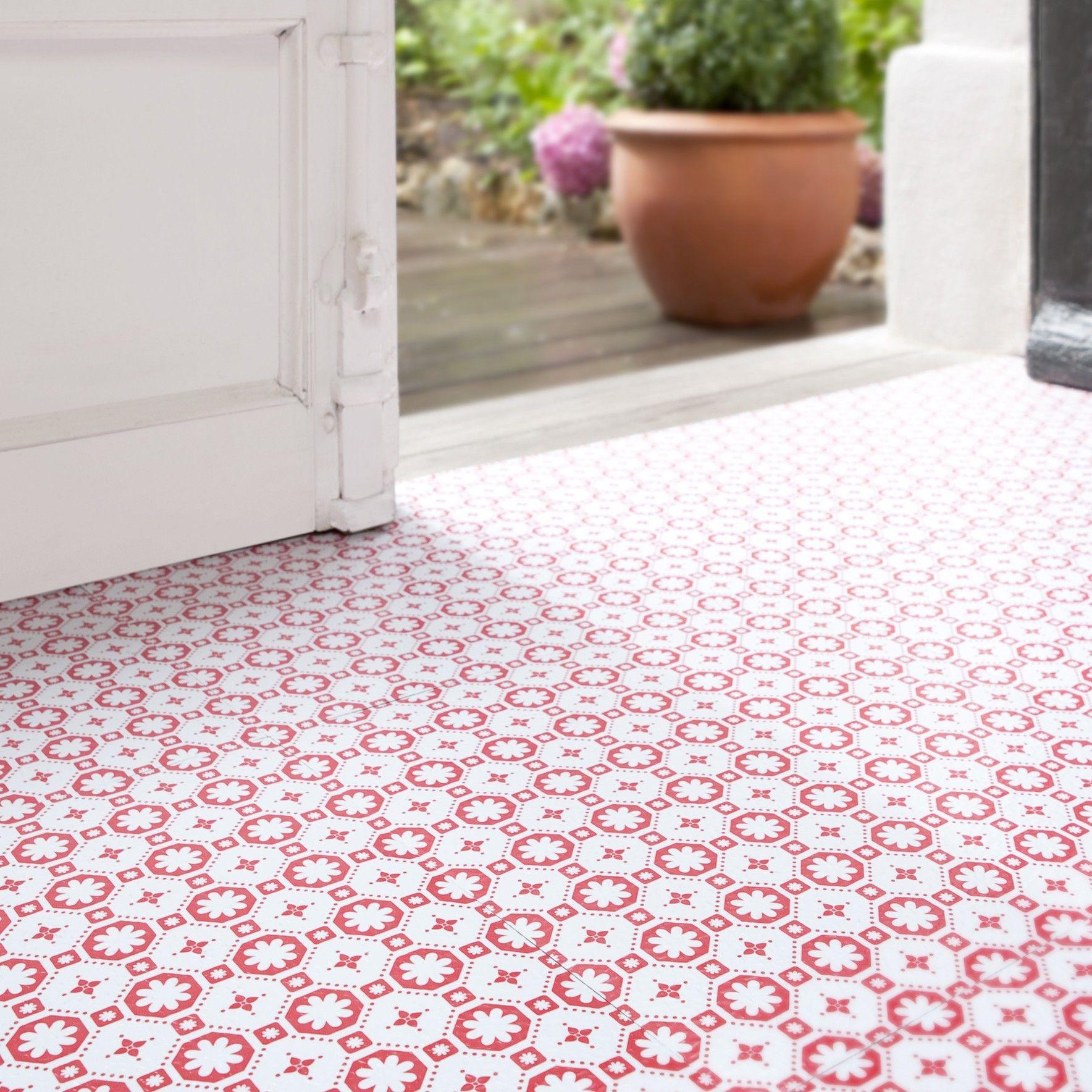 Zelfklevende vinylvloeren - vloertegels Rose des Vents ...
