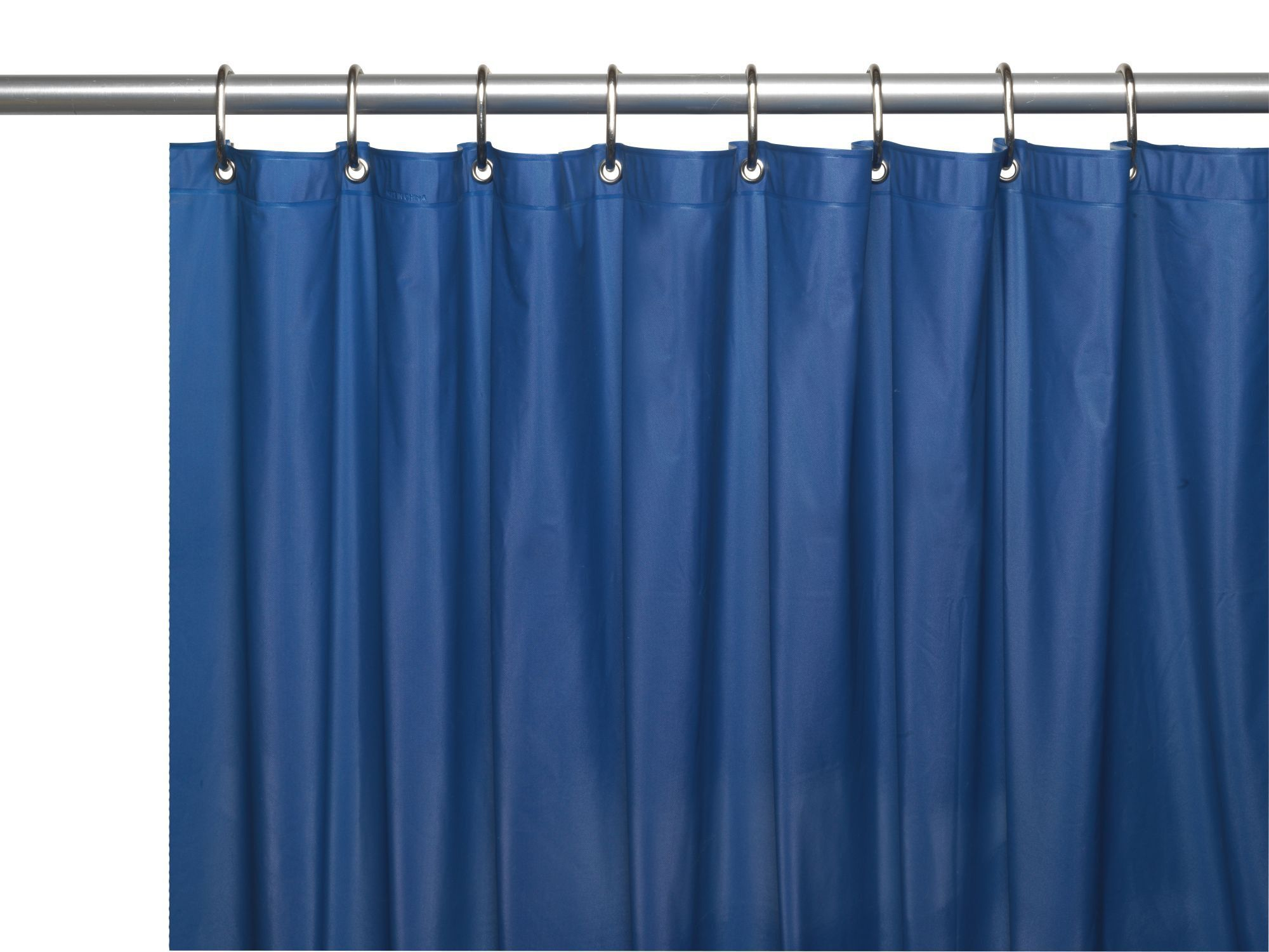 Royal Bath Extra Heavy 8 Gauge Vinyl Shower Curtain Liner with Metal ...