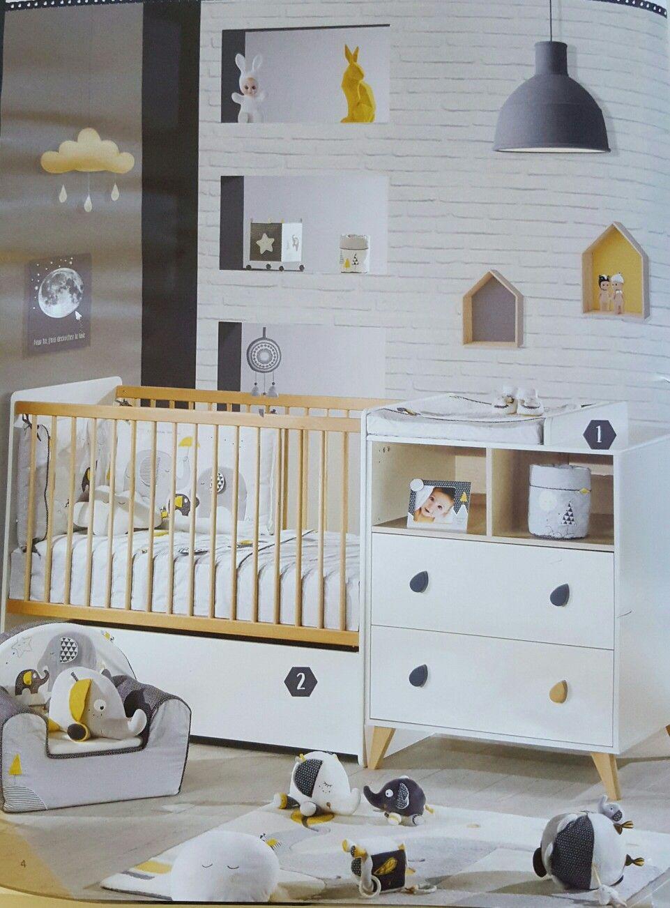 foto de Lit chambre Oslo Chambre bébé Chambre bébé sauthon Sauthon