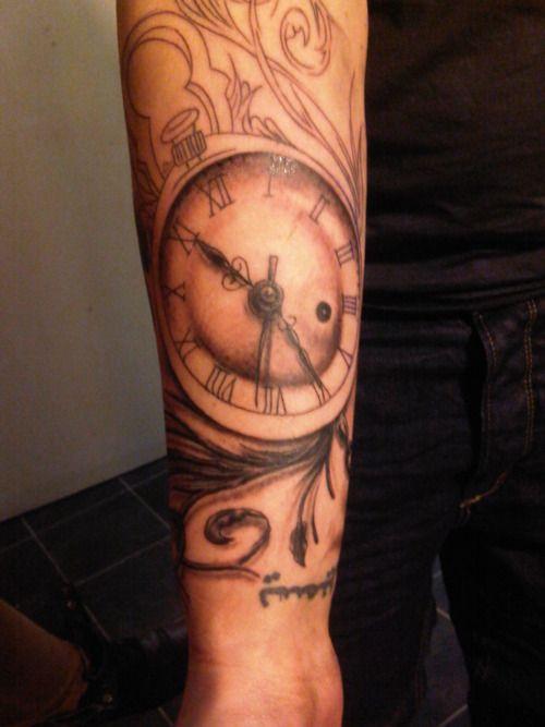 john kayser pocket watch tattoo