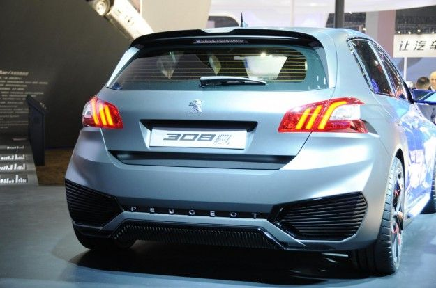 Release Peugeot 308 R Hybrid 2015 Review Rear View Model