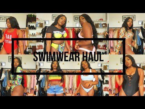 238912b6d17 Vacation ready Zaful plus size swimsuit haul 2018 - YouTube
