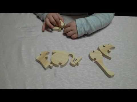 Ahşap Puzzle - DIY Wooden Puzzle