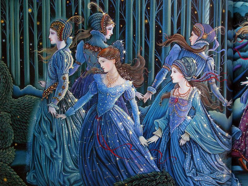 Image result for the twelve dancing princesses