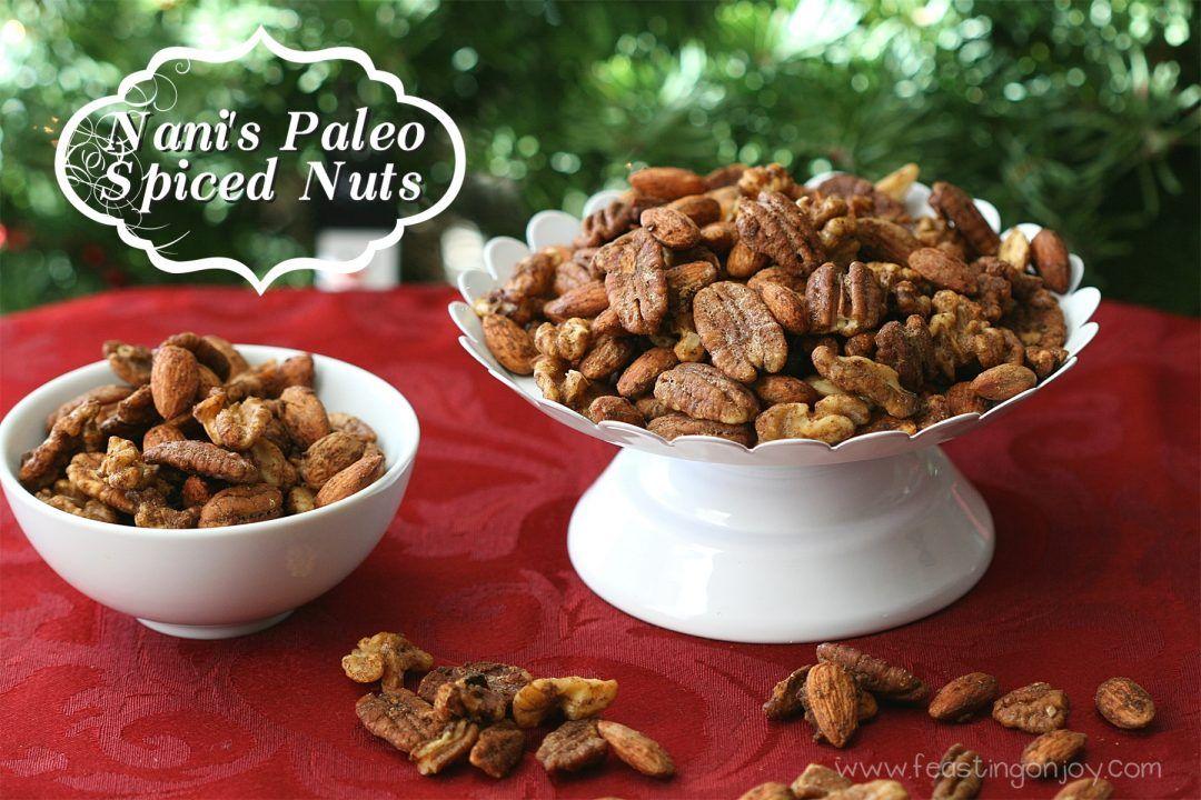 Nani's Paleo Spiced Nuts. Gaps Friendly. Not AIP Friendly.