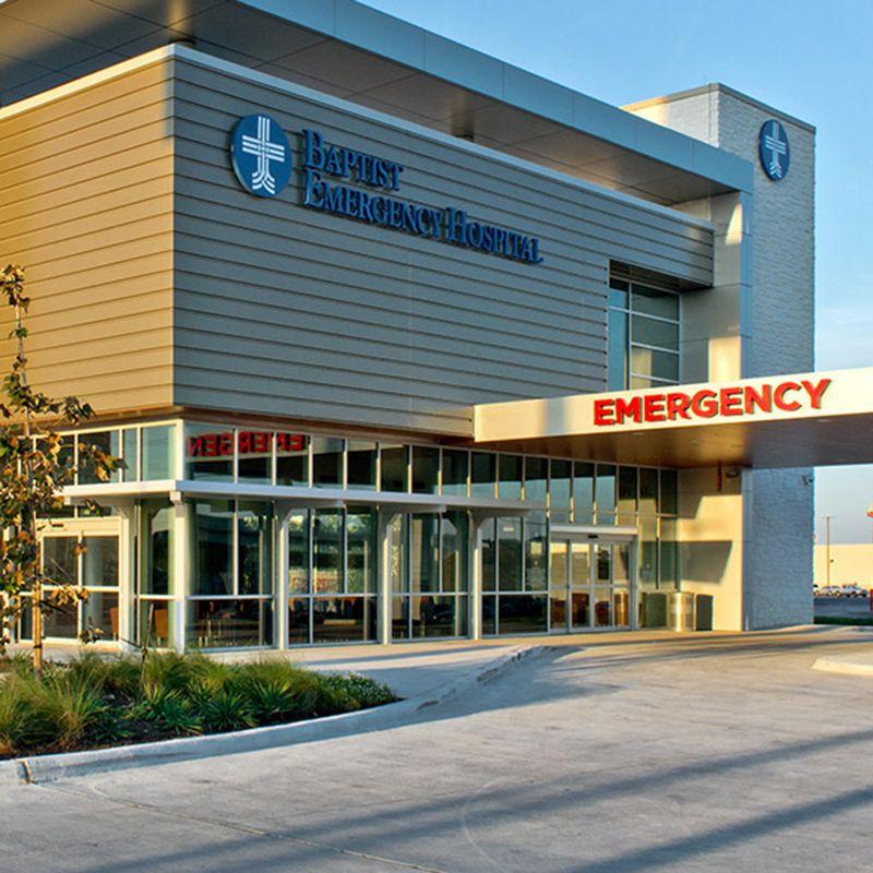 Emerus Emergency Hospital 2 Locations Hausman And Overlook Gilbane Building Company Rumah Sakit Bangunan Gedung