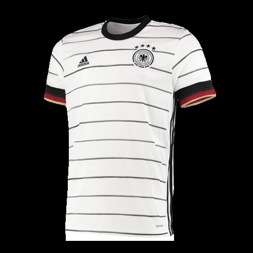 2020 Germany Home White Jerseys Shirt Player Version In 2020 White Jersey Shirt Germany National Football Team Sports Shirts