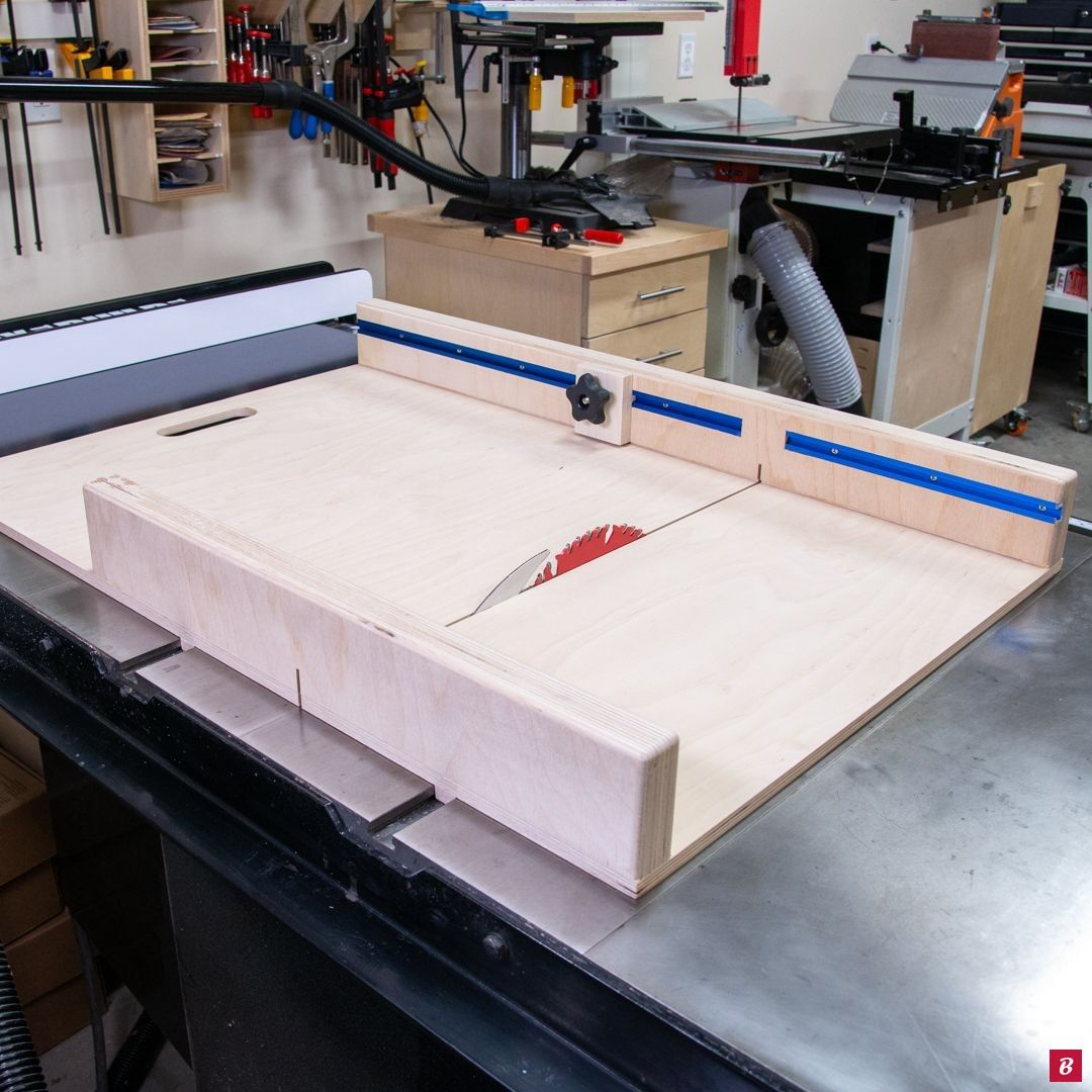 DIY Table Saw Sled with FREE PLANS! Table saw sled, Diy