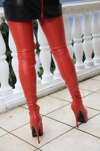 Knie hohe Stiefel gefesselt, Kaufen Sie für Knie hohe
