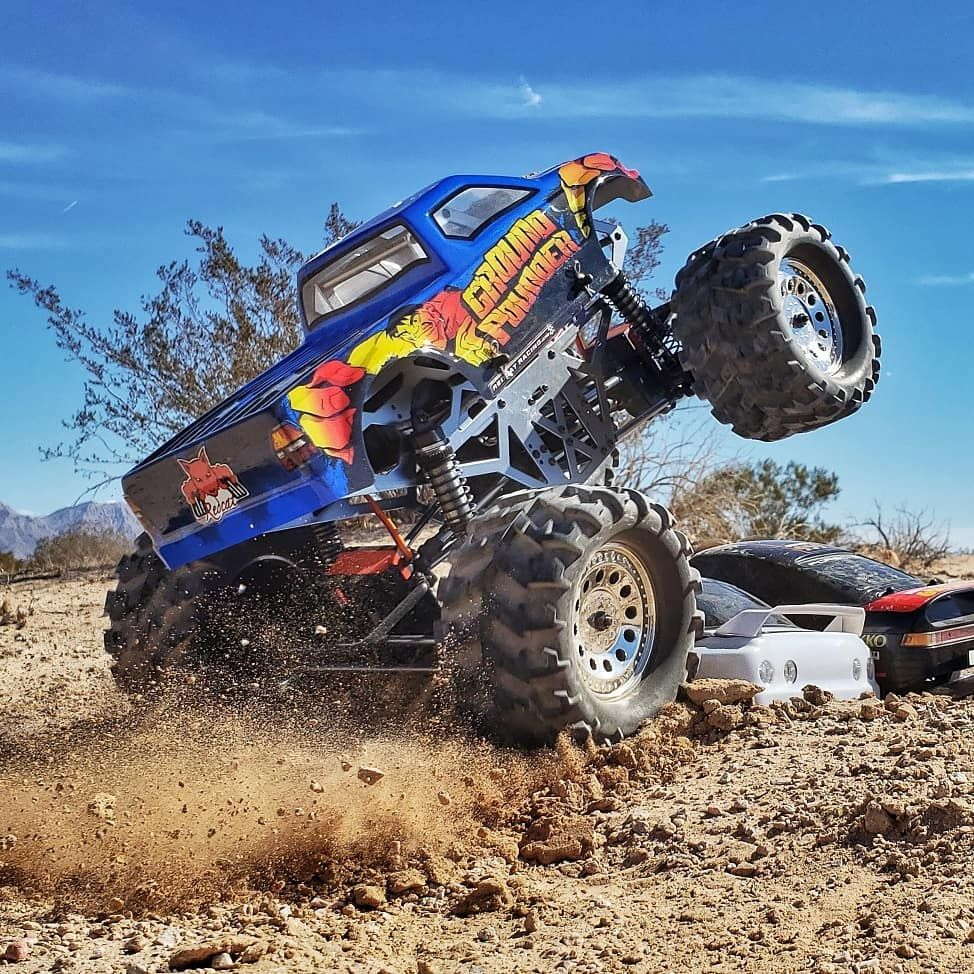 Redcat Ground Pounder 1/10 Scale Electric RC Monster Truck