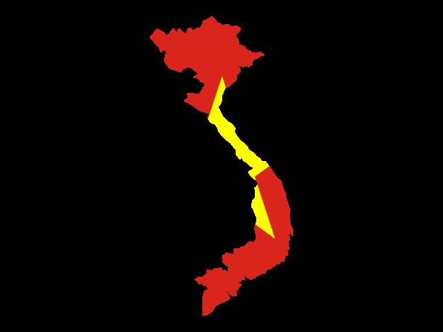 Flag Map Of Vietnam Free Vector Maps Netherlands Map Map Vector Vietnam Flag