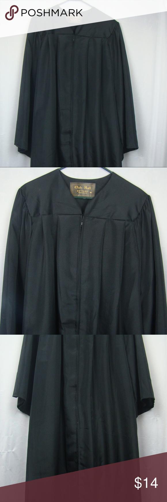 Oak Hall Graduation Gown Men\'s Or Women\'s 6\'-6\'2\