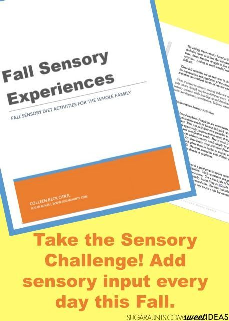 Harvest Theme October Sensory Calendar Therapy ideas, Occupational