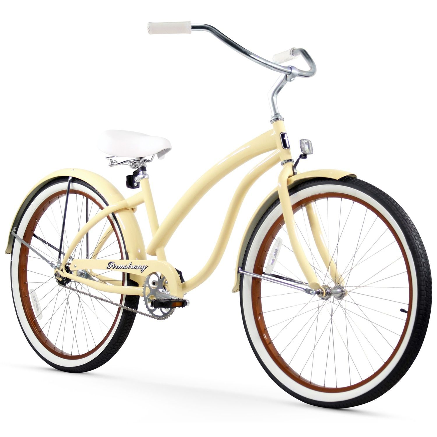 26 firmstrong bella fashionista single speed women s beach cruiser bicycle