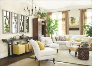 How To Decorate A Long Wall In Living Room Large Living Room Living Decor Home