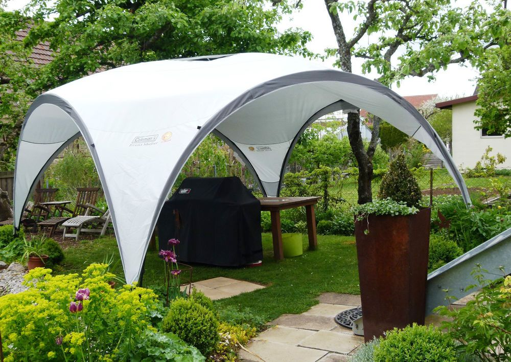 Coleman Canopy Shelter : Coleman event shelter  camping garden marquee