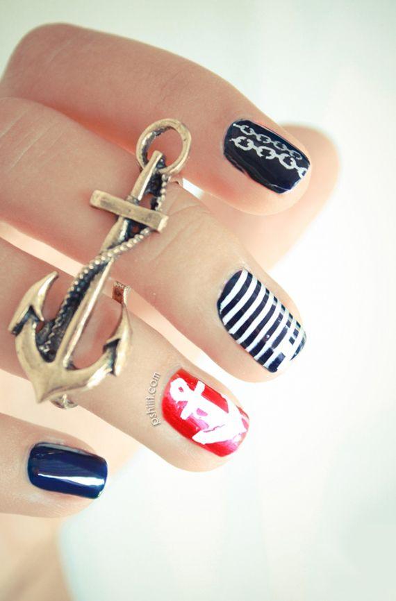 Decoración de uñas para verano | Decoración de Uñas - Manicura y ...