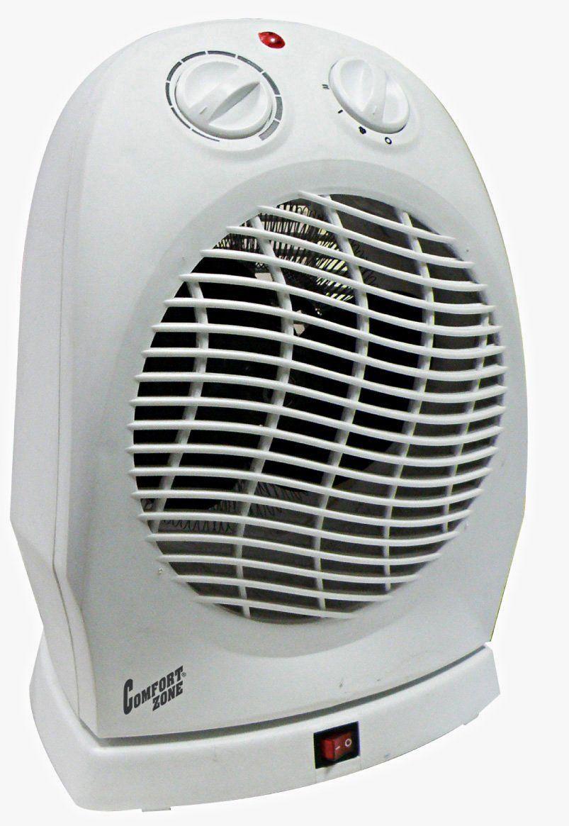 Amazon Com Comfort Zone Deluxe High Efficiency Oscillating Fan Heater Cz50 Home Kitchen Heater Fan Portable Heater Oscillating Fans
