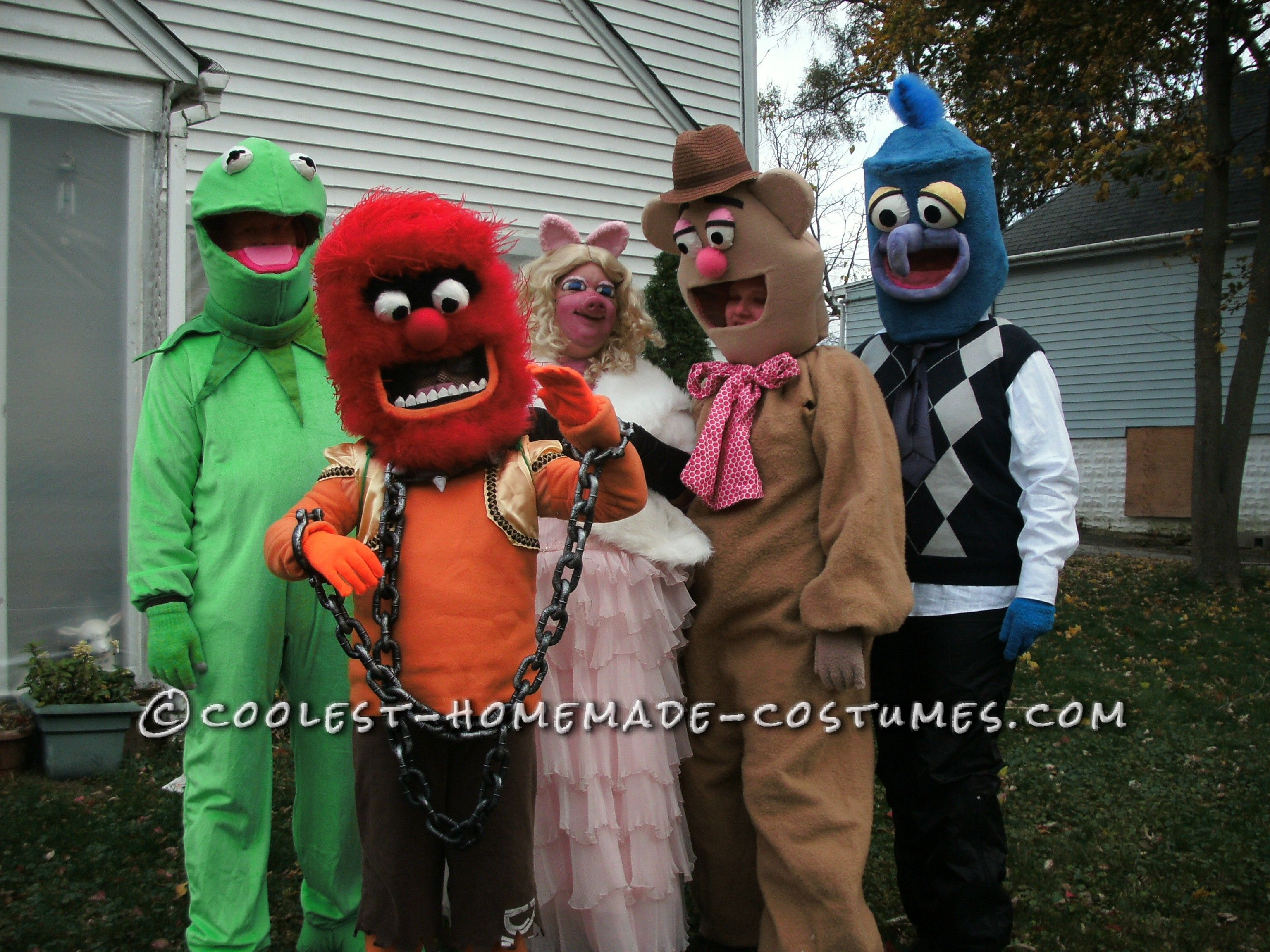 The Most Realistic Muppet Costumes Ever!... Coolest Halloween ...