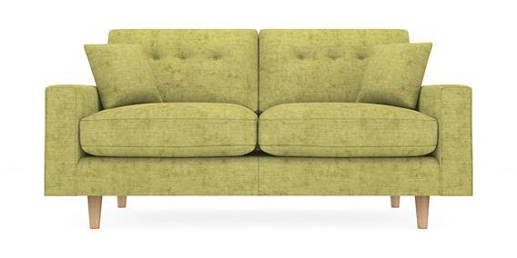 Larson Medium Sofa Seats Antique Velvet Green Conical Light From The Next Uk Online