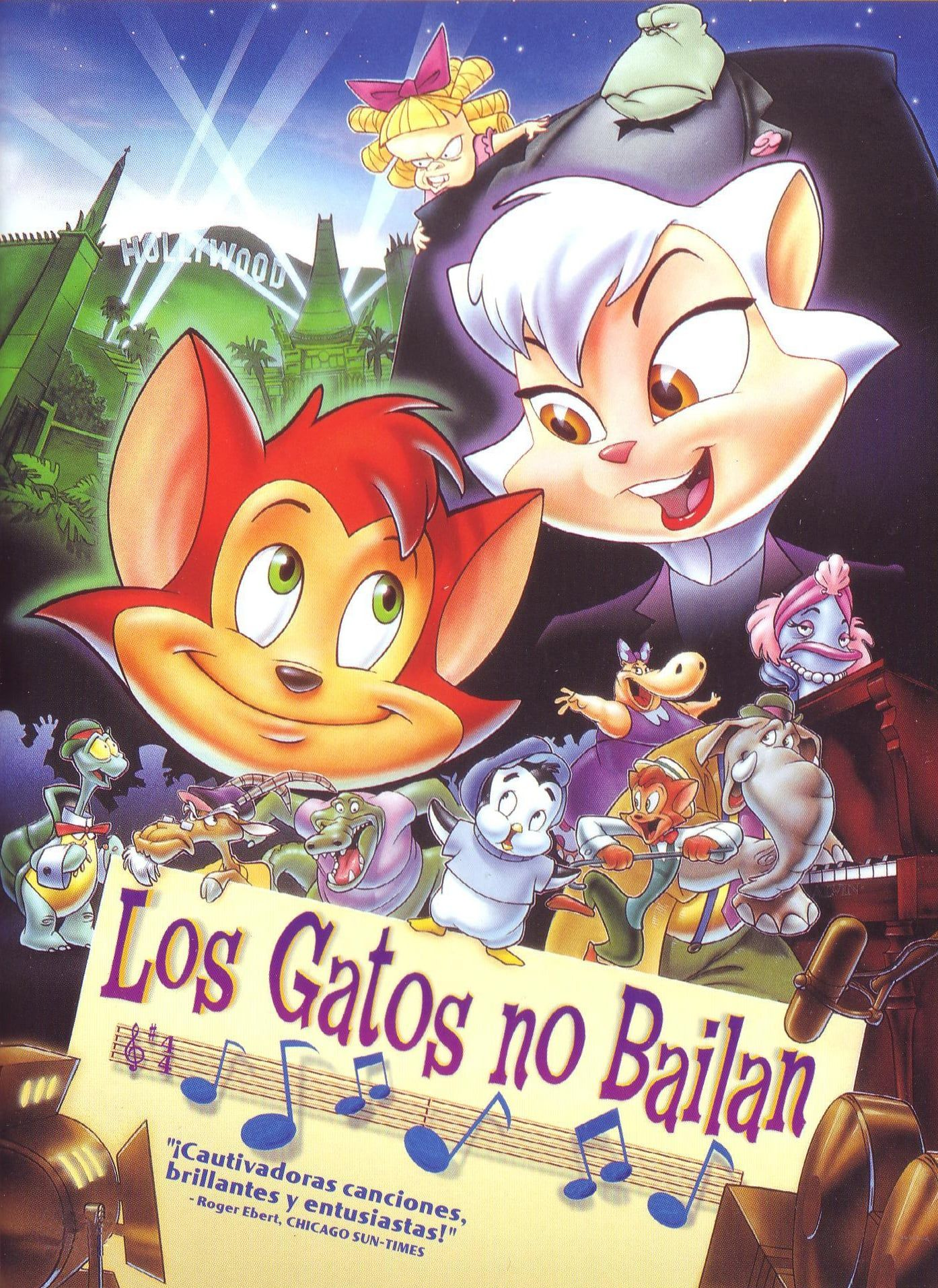Cats Don T Dance Film Completo In Italiano Hd Cats Dont Dance Animated Movies Dance Movies
