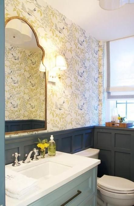 Best Bathroom Wallpaper Border 33 Ideas For 2019 Bathroom 400 x 300
