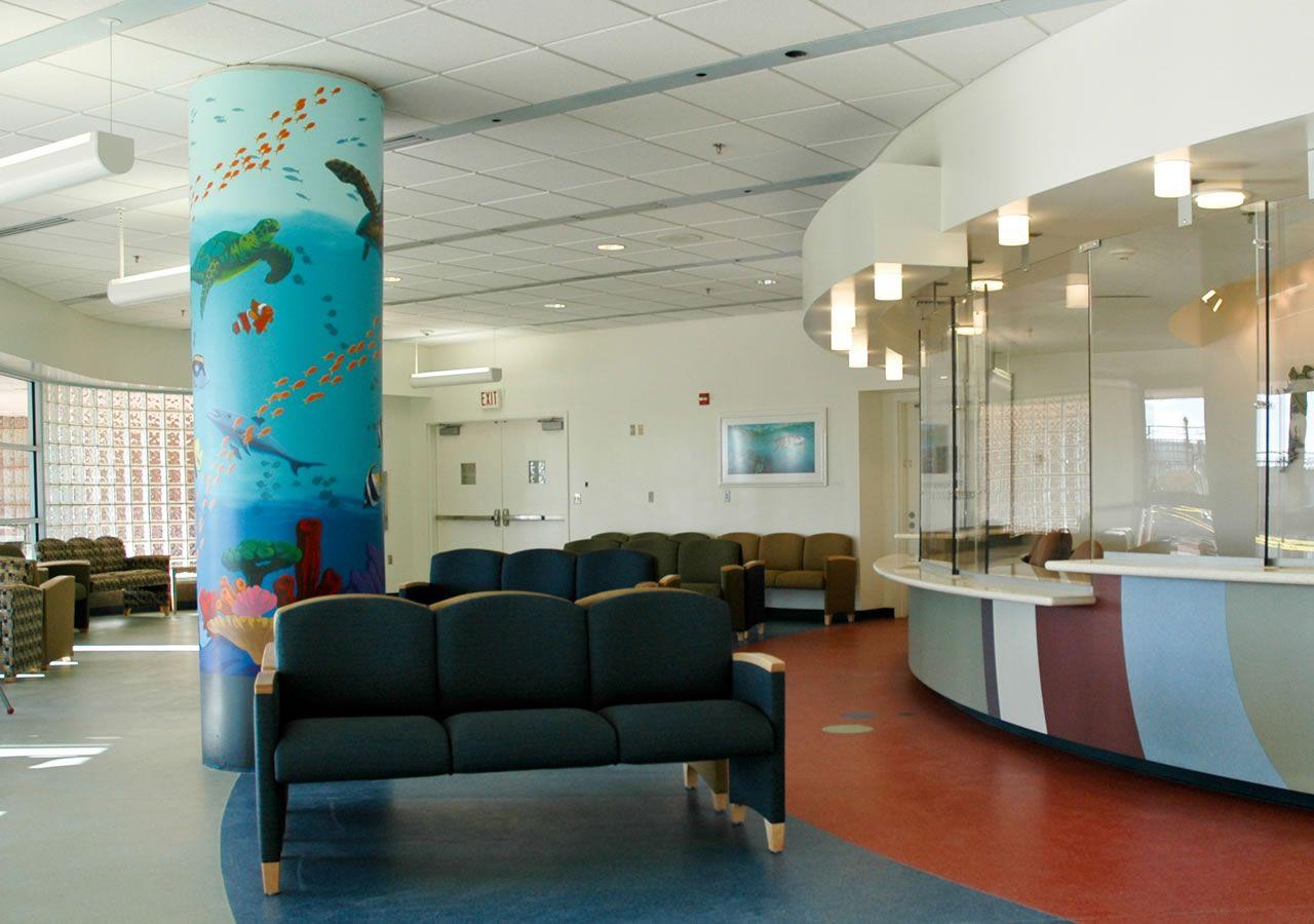 Children\'s Hospital ER: main reception area one ...