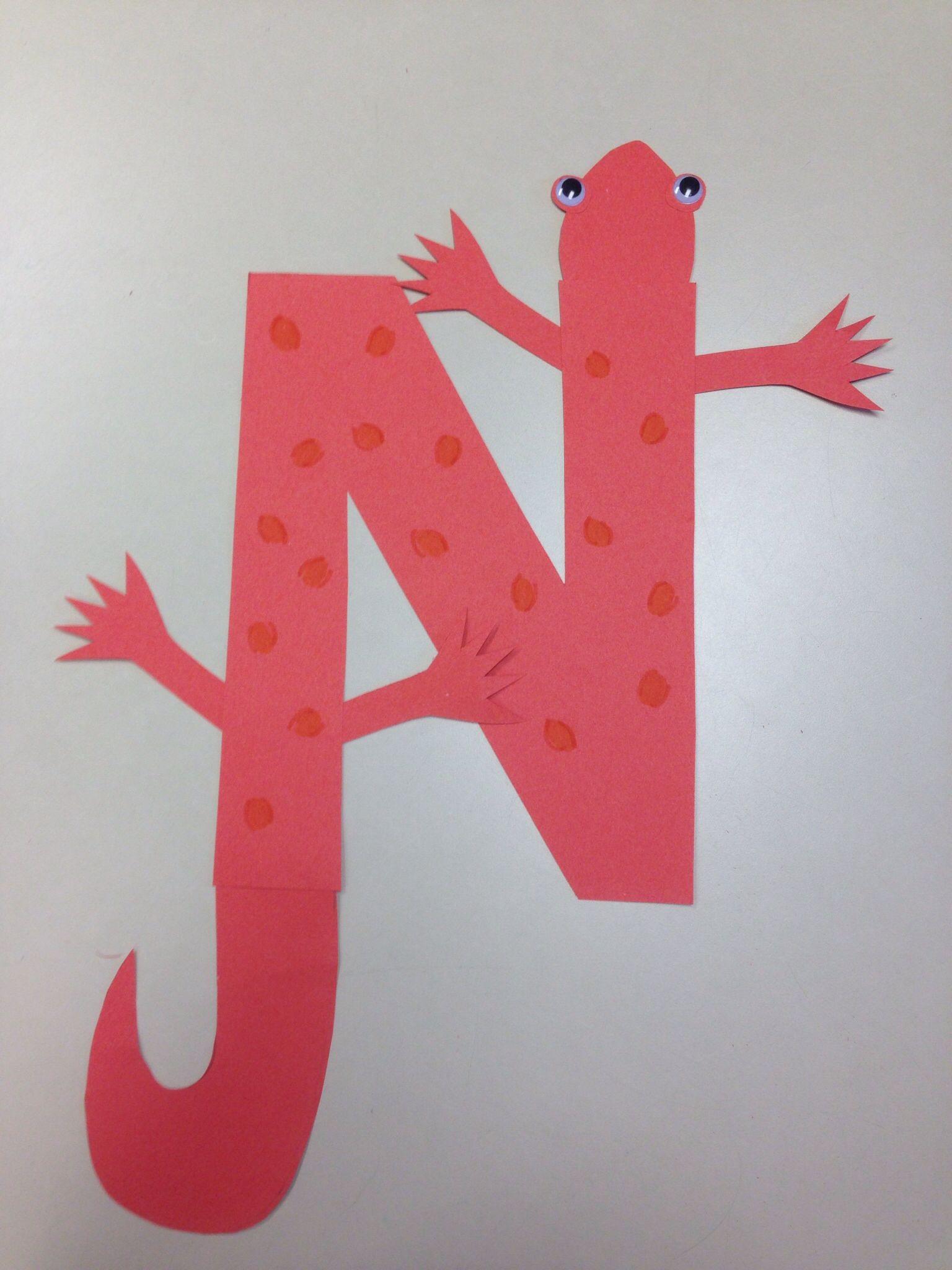 Letter N Crafts For Children Letter N Crafts For Kids