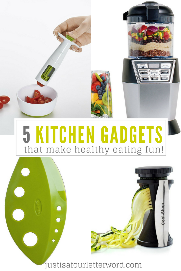 My Top 5 Kitchen Gadgets That Make Healthy Eating Fun These Are My Must Haves I Love Kitchen To Kitchen Gadgets Easy Healthy Eating Must Have Kitchen Gadgets