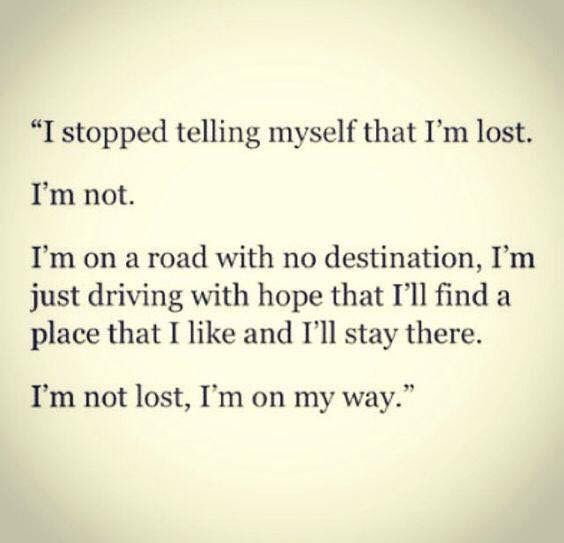 I Am Finding Myself Quotes
