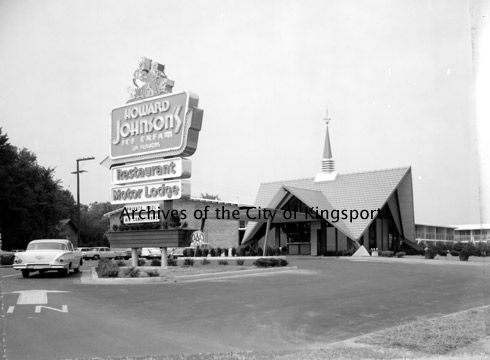 The Howard Johnson Motor Lodge And Restaurant Was Located At 1017 West Stone Drive At The Lynn Garden Drive Kingsport Tennessee Southern Heritage Old Pictures