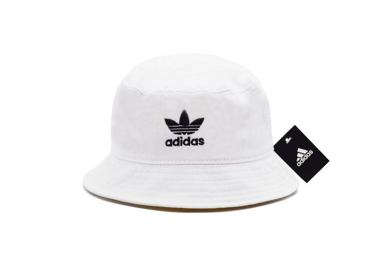 Men s   Women s Adidas The Original Logo Embroidery Fisherman Bucket Hat -  Black   White 599d2527ad
