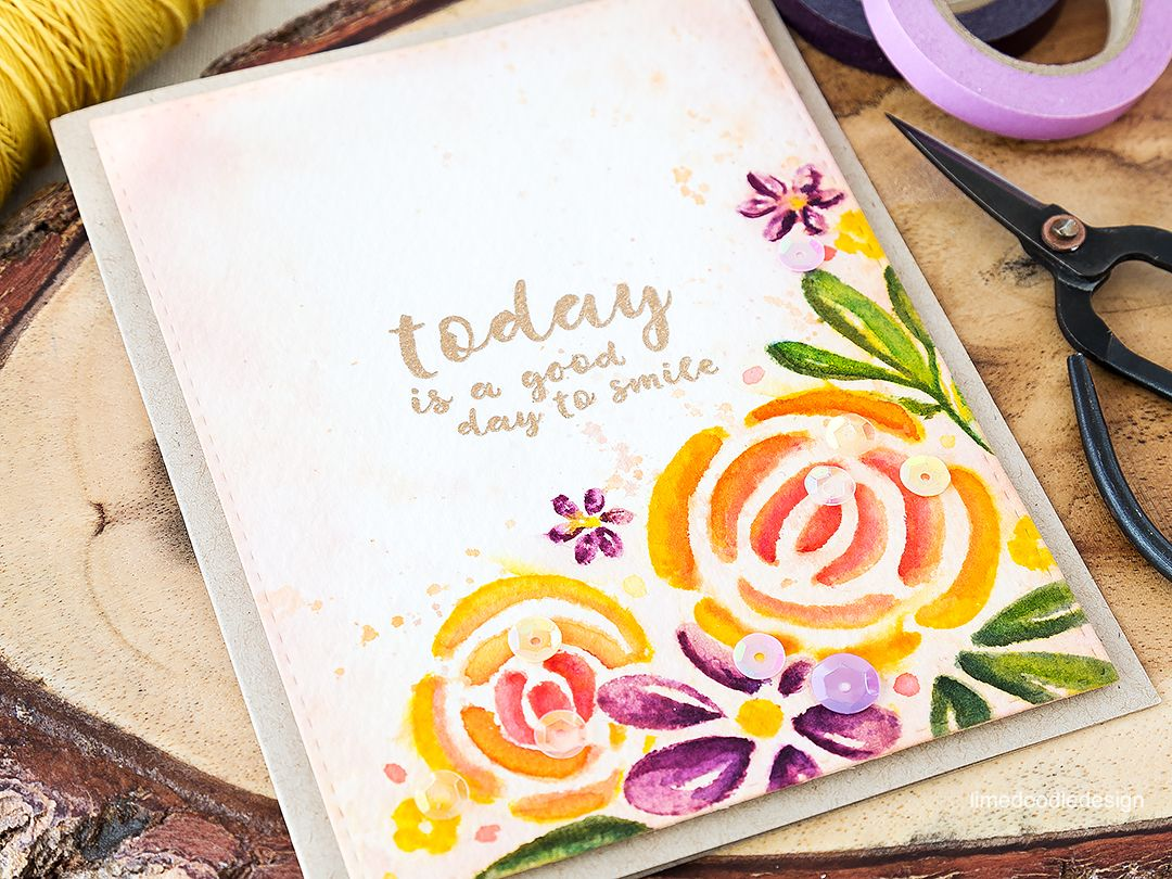 The evocative romance of a victorian flower garden lime doodle