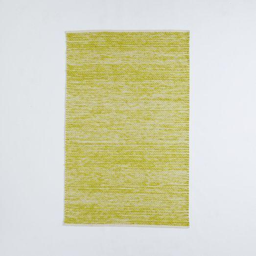 Painter S Cotton Wool Rug Sun Yellow Modern Wool Rugs Wool Rug Rugs