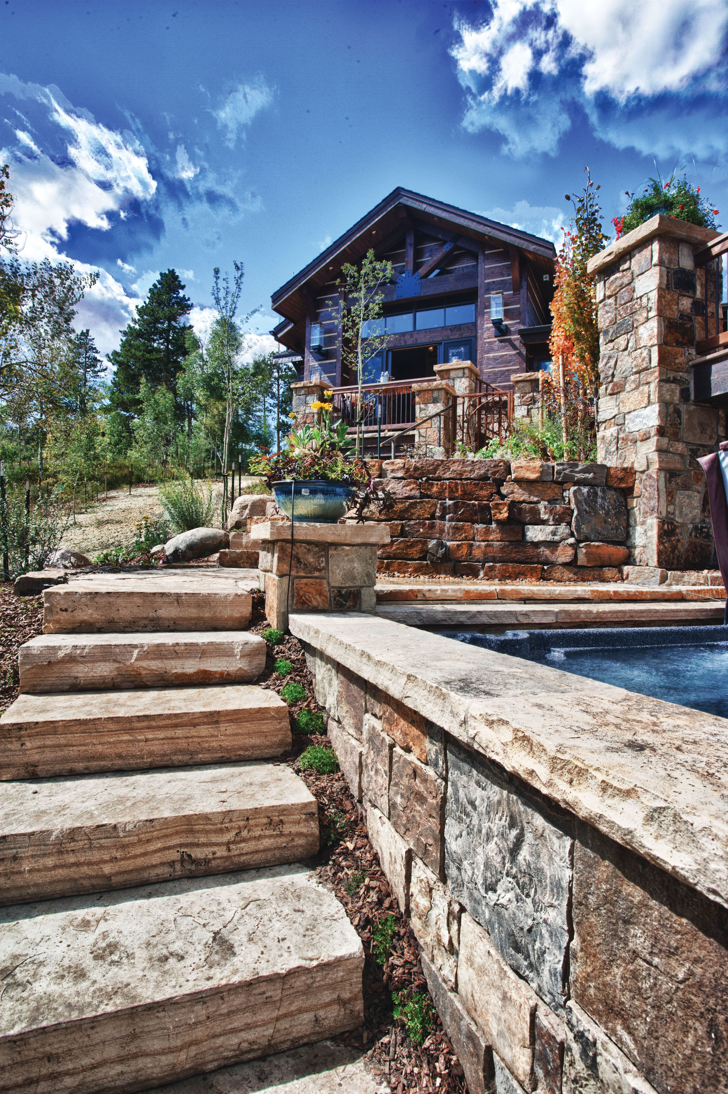 Colorado Mountain Home Design One Interiors Landscape Ideas