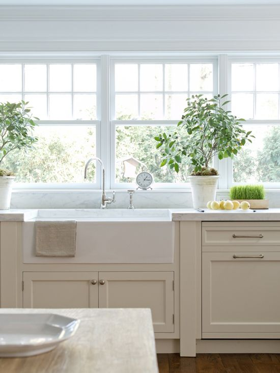 Kitchen Trend No Upper Cabinets Kitchen Inspirations Farmhouse