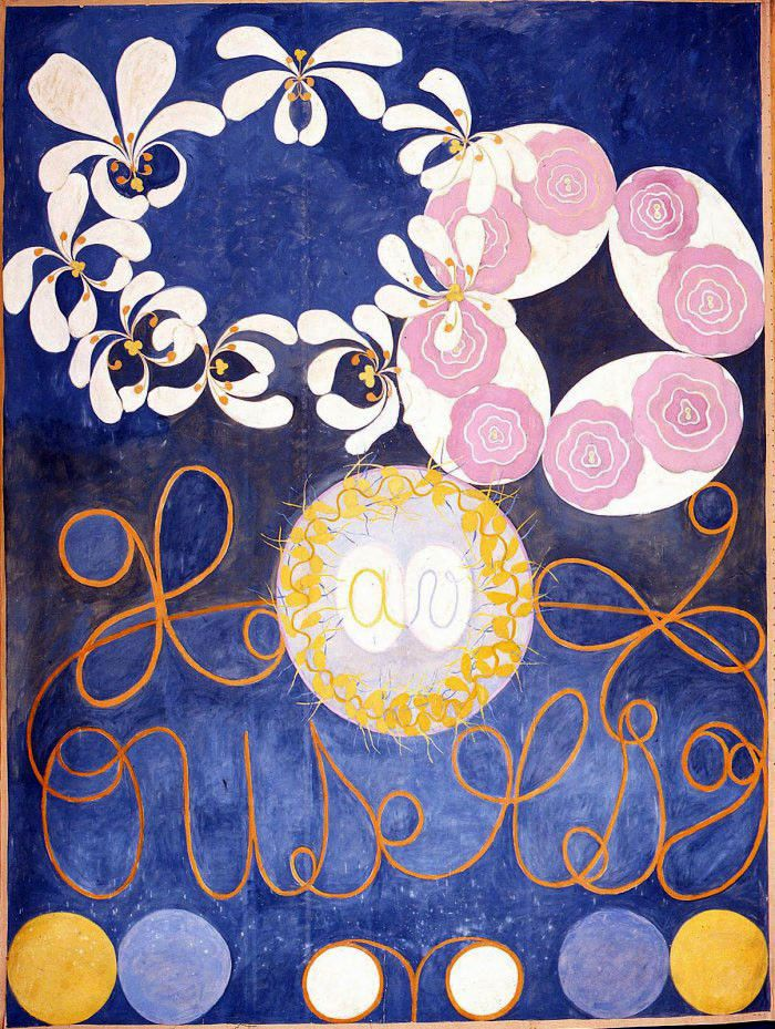 Hilma af Klint: The ten largest, no1. (Kuva: Artblart.com)