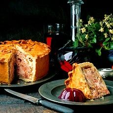 Old-fashioned Raised Game Pie | Recipe (With images ...