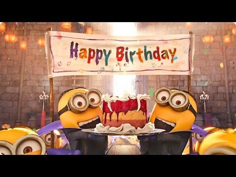 Minion Happy Birthday Youtube Geburtstag