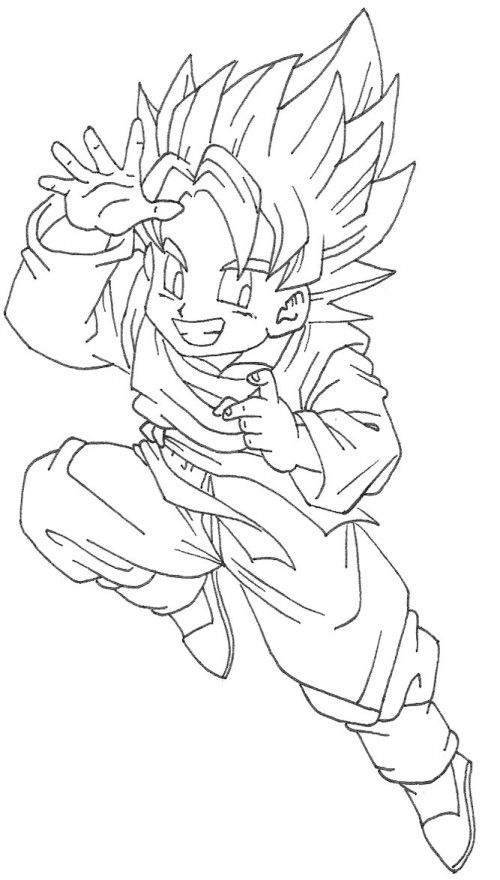 Dragon Ball Coloring Pages Goku Coloring Pages Dragon Ball Color