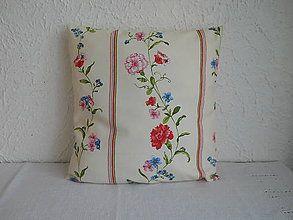 Úžitkový textil - Návlek na vankúš - Romantika III - 5581733_