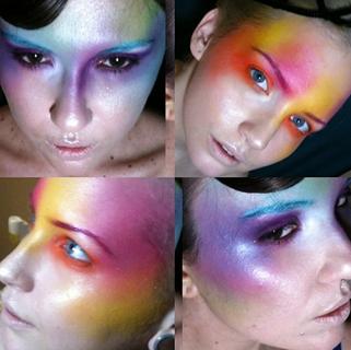 Colourful contouring