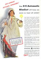 General Electric Automatic Blanket 1942 Ad Picture