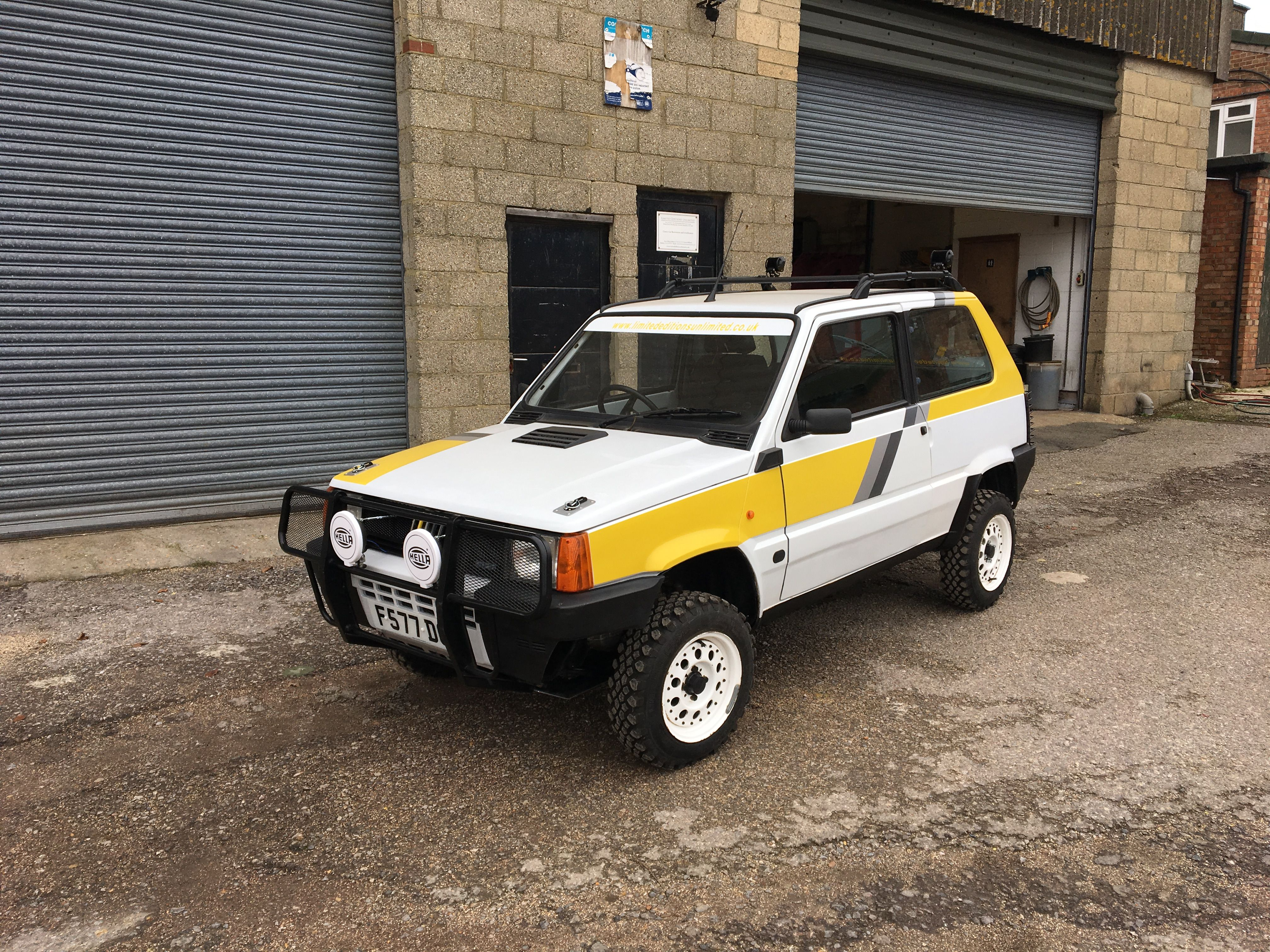 Our Sacrificial Fiat Panda 4x4 Off Roader Auto