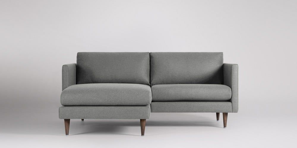 Tivoli Left-hand Small Corner Sofa | Swoon Editions | Small Corner Sofa, Corner Sofa, Small Sofa