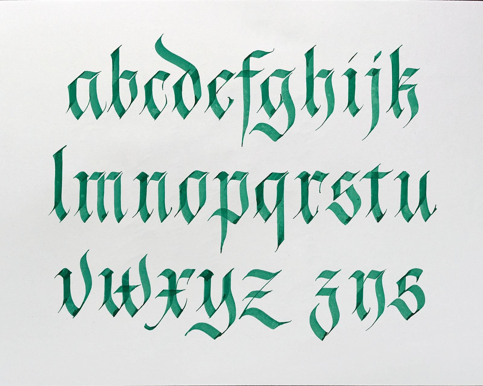 Pin by Peter Miller on Calligraphy Gothicesque in 2020